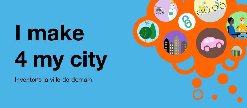 banner de presentación del challenge I make 4 my city