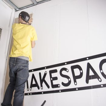 Entrada a MakeSpace Madrid