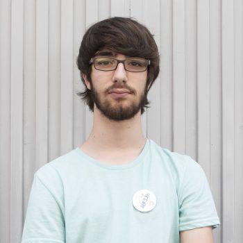 Adrián en la formación en MakeSpace Madrid