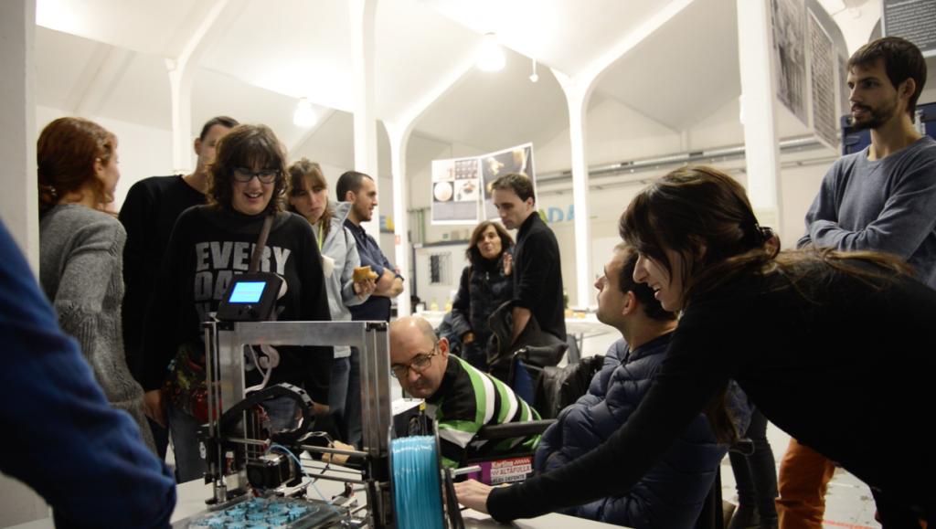 mostrando impresoras 3D