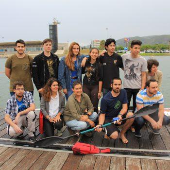 Grupo breakers de Tinkerers Fab Lab que ha desarrollado el proyecto Tinkeryak