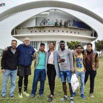 Grupo jóvenes y facilitadores de Breakers Valencia