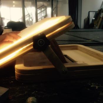 Mesa de luz terminada