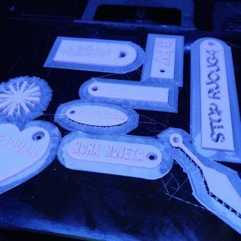 llaveros impresos en 3D