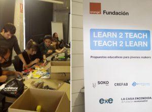 """Imágenes del encuentro facilitadores y del evento """"Learn2Teach"""""""